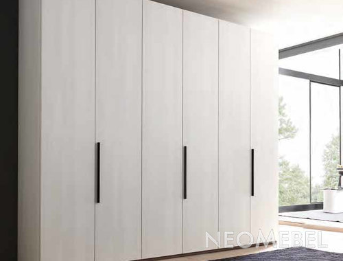 Гардеробный шкаф шестистворчатый , sma - armadi, style в инт.